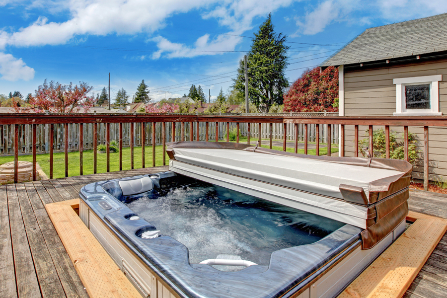 Installing a Spa on Your Deck