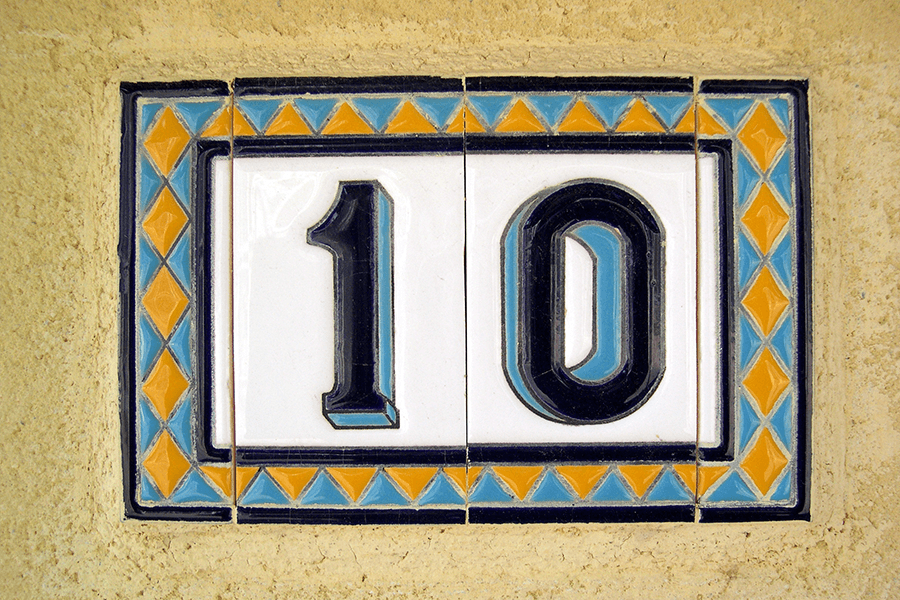 House number 10